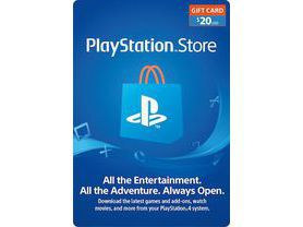 Cartão PSN $20 Dólares Playstation Network - USA