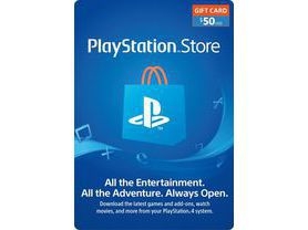 Cartão PSN $50 Dólares Playstation Network - USA
