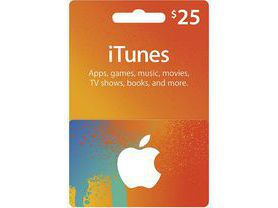 iTunes Gift Card $25 - USA