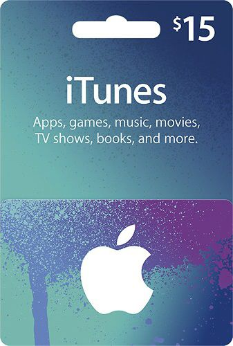 iTunes Gift Card $15 - USA