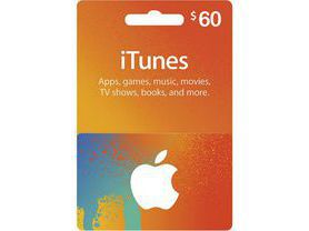 iTunes Gift Card $60 - USA