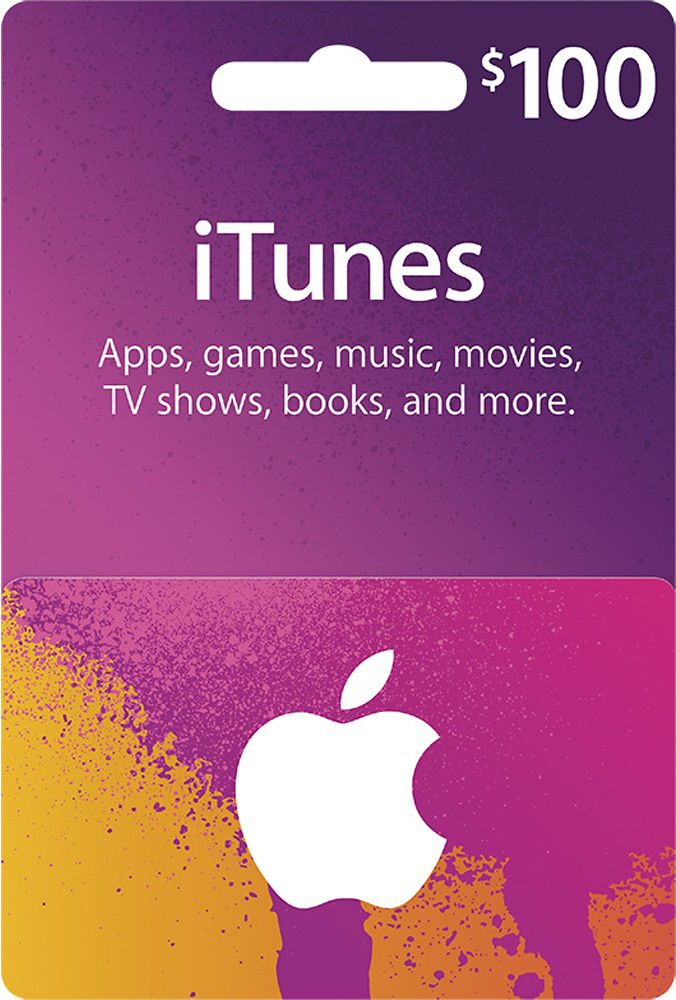 iTunes Gift Card $100 - USA