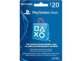 Cartão PSN £20  - Playstation Network Card - UK