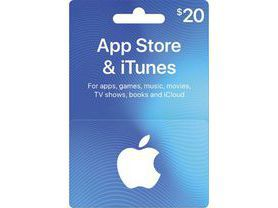 iTunes Gift Card $20 - USA