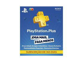 Cartão Playstation Plus 12 Meses (1 Ano) PSN Portugal