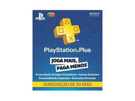 Cartão Playstation Plus 3 Meses PSN Portugal