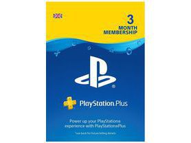 Cartão Playstation Plus 3 Meses PSN UK