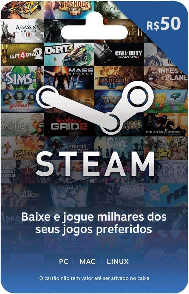 Gift Card Steam Zero3Games