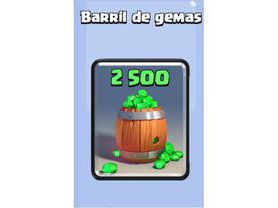 Clash Royale Barril de Gemas (2.500) [Gift Card]