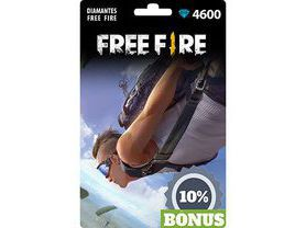 Free Fire: 4.600 Diamantes