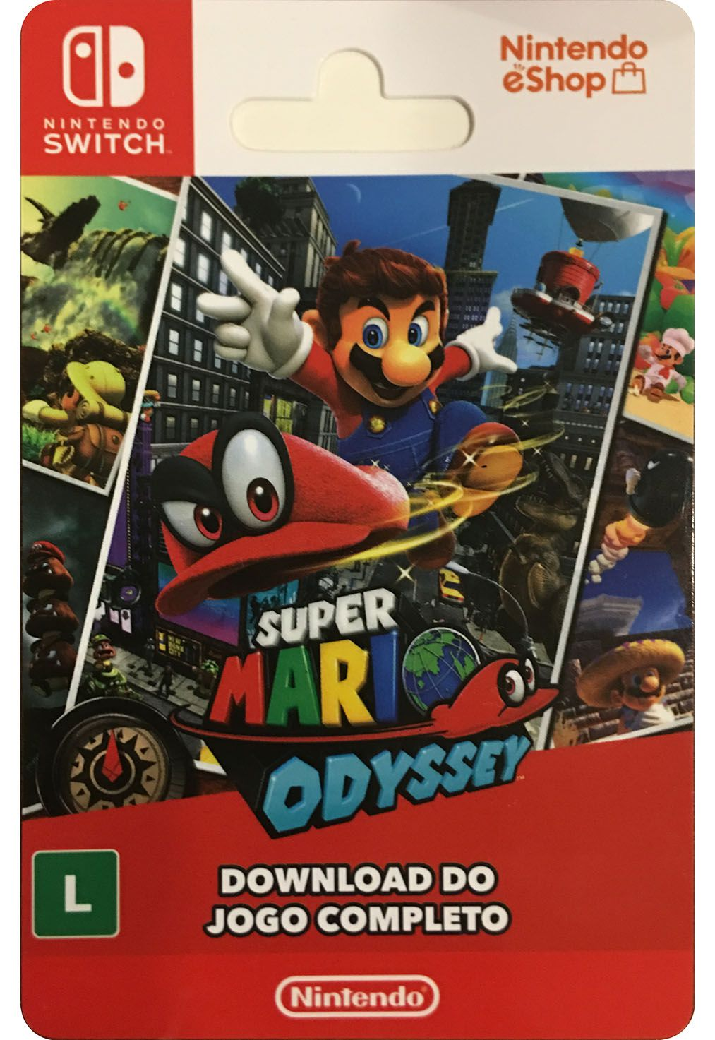 Super Mario Odyssey - Nintendo Switch [Digital] BR