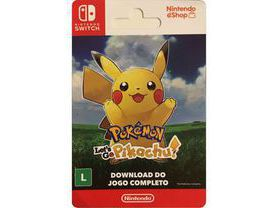 Pokémon: Let's Go, Pikachu! - Nintendo Switch [Digital] BR
