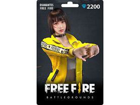 Free Fire: 2.200 Diamantes [Recarga]