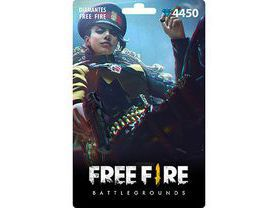 Free Fire: 4.450 Diamantes [Recarga]