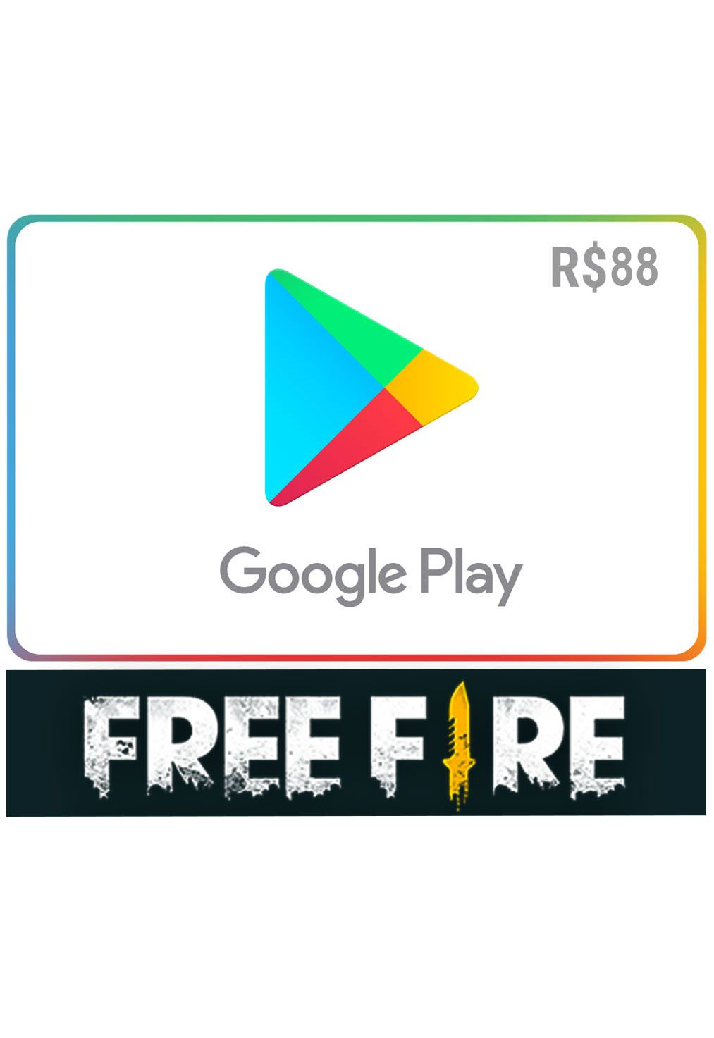 Código PIN Free Fire Google Play: 2180 Diamantes