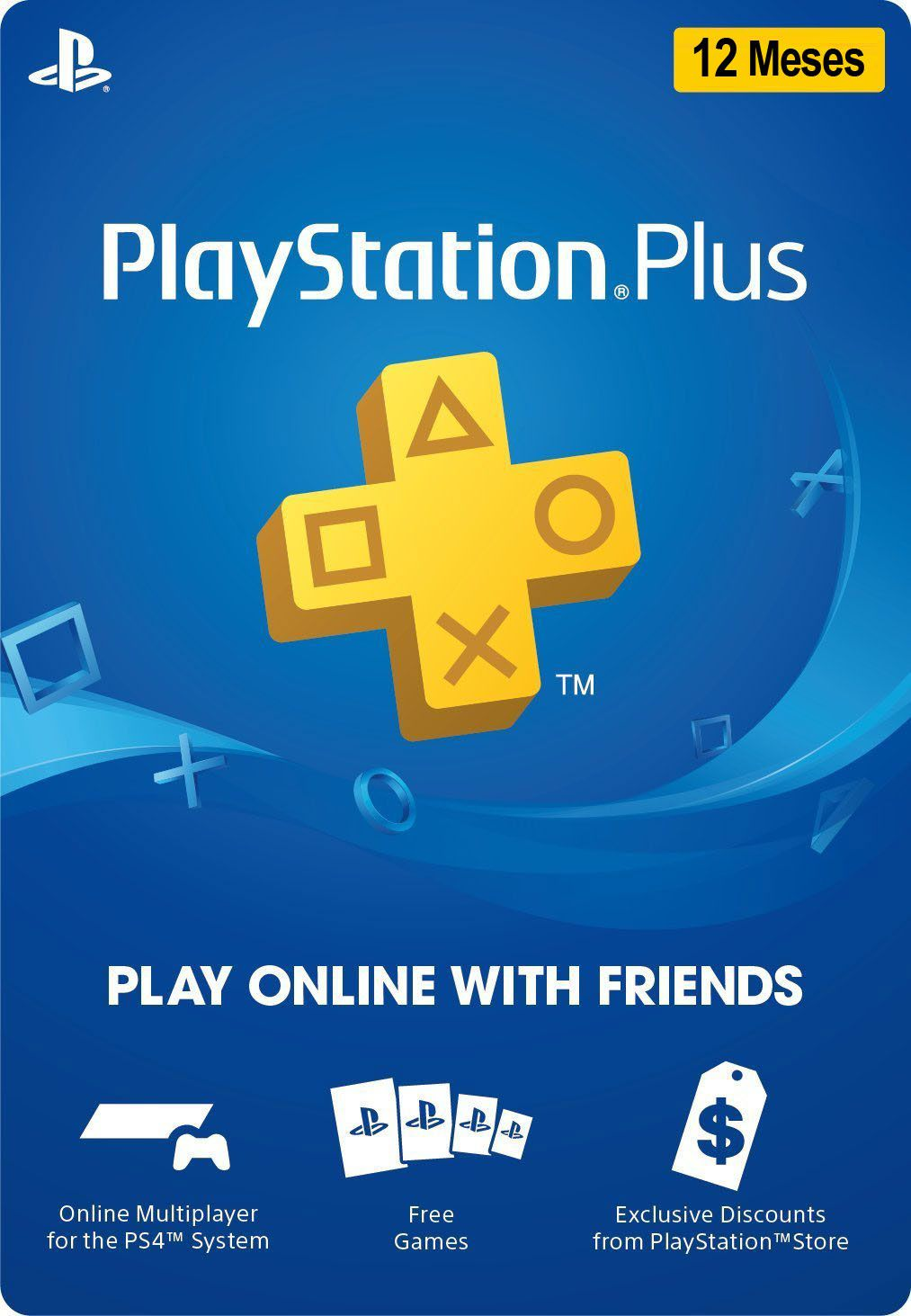 Playstation Plus 12 Meses Membership [PROMO 25% OFF]